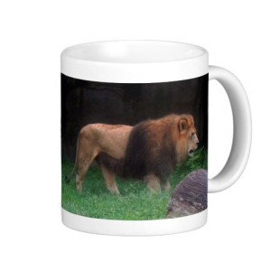 Lion Mug by Sylvestermouse