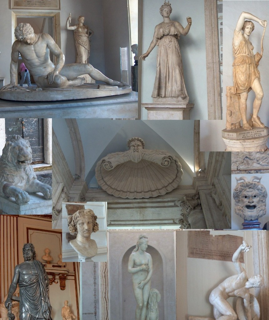 Capitoline Museum Collage by Sylvestermouse