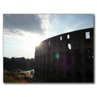 Rome Colosseum Photo by Sylvestermouse