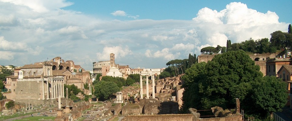 Vacation in Rome, Italy