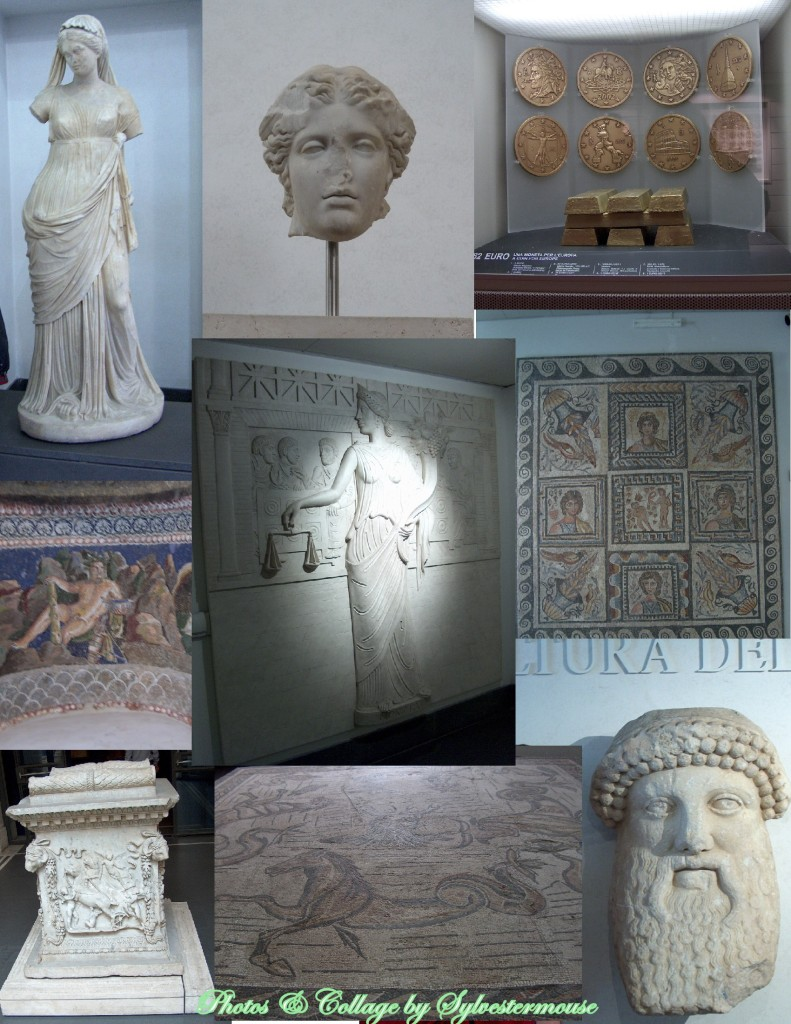 National Gallery in Rome Collage by Sylvestermouse