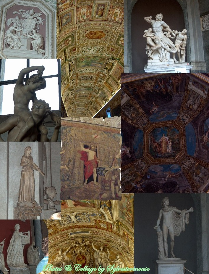 Vatican in Rome - Photos & Collage by Sylvestermouse