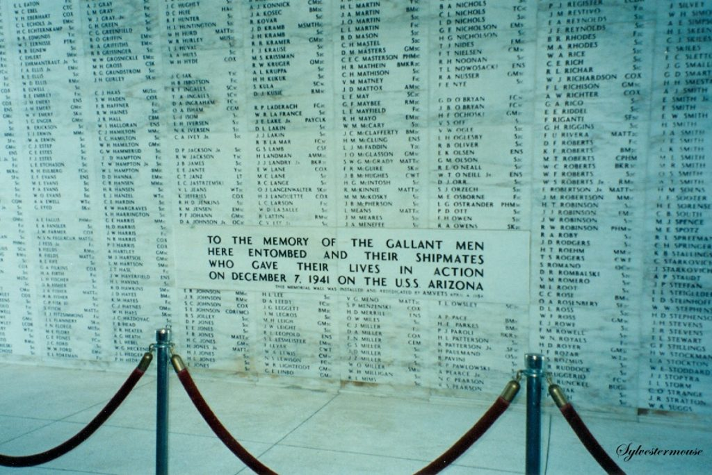 USS Arizona Memorial Photo by Sylvestermouse