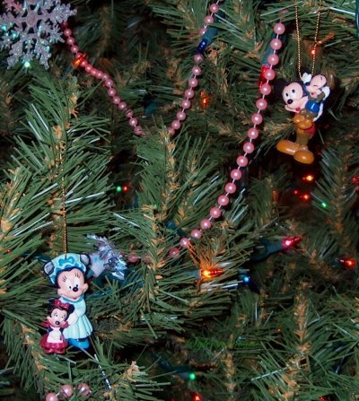 Mickey Mouse Christmas tree ornaments