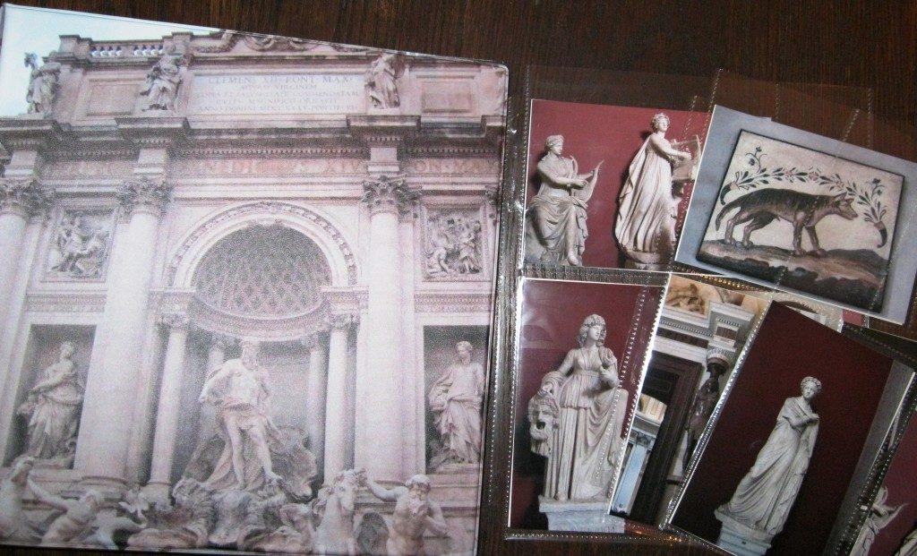 Postcard Storage