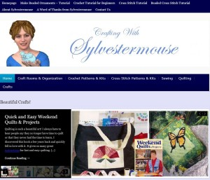 Crafting with Sylvestermouse Website