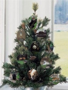 Endangered Animals Ornaments collection