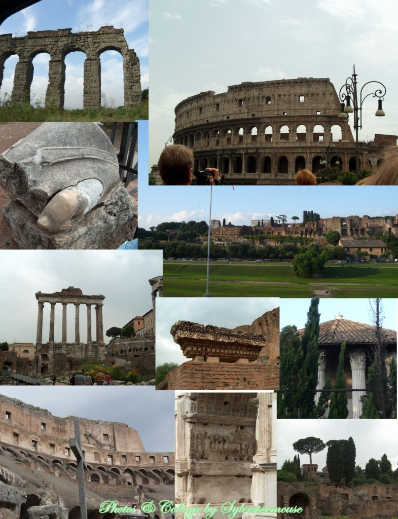 Rome Photos and Collage by Sylvestermouse