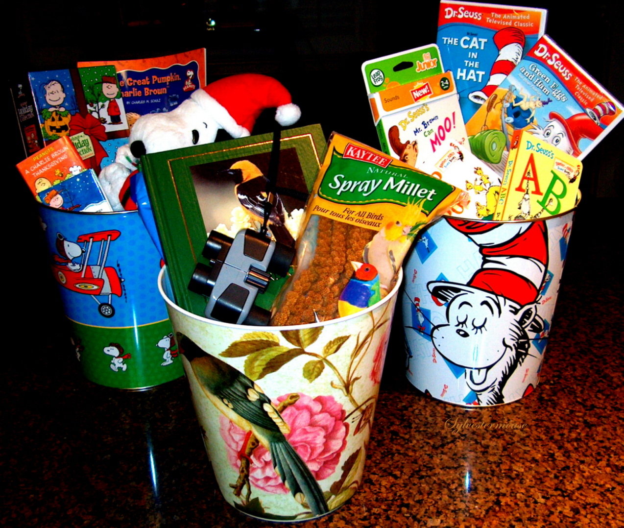 Presentable Trash Can Gifts House Of Sylvestermouse