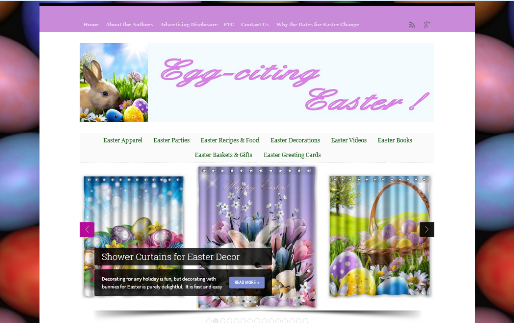 Easter Website