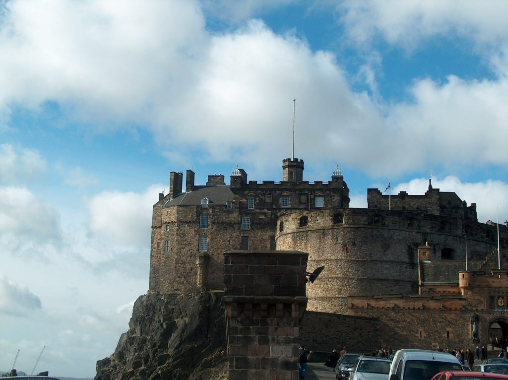 Scotland - Edinburgh Castle photo by Cynthia Sylvestermouse